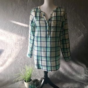 J. Jill Plaid Shirt